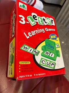 3-letters learning game