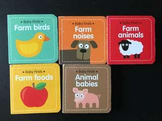 Baby firsts board books