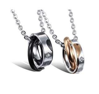 316LStainless steel Couple necklaces
