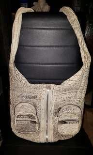 05757752cad6 Alexander Wang Donna Leopard Print Leather Shoulder Bag Authentic