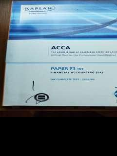 ACCA PAPER F3 TEXTBOOK
