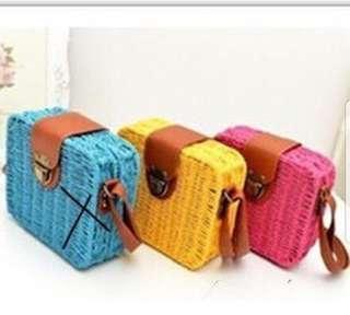 Imported ratan bag