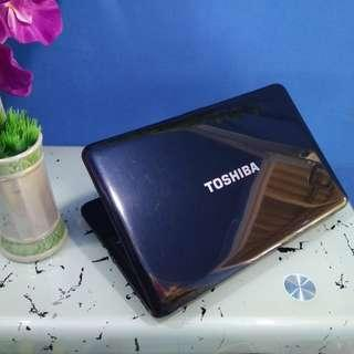 laptop toshiba c850 intel celeron 2gb ram 15 inch normal good