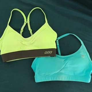 🔸 2x Lorna Jane XS Crop Tops (Active Wear)
