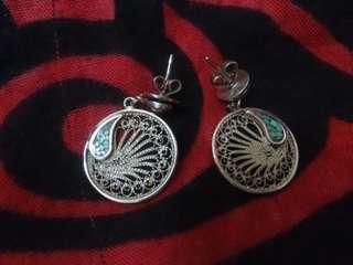 925 silver earrings vintage