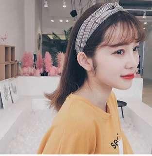 🚚 韓國頭飾甜美森女系超仙寬邊簡約百搭