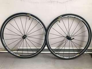 Mavic Aksium Elite Wheels