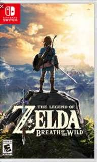 TRADE Nintendo switch Zelda