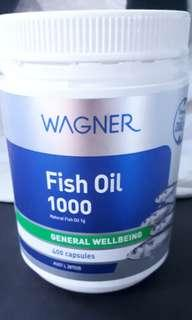 Wagner Fish Oil 1000mg 400 capsules (Australia)