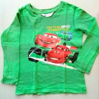 H&M Cars Longsleeve Shirt (Green)