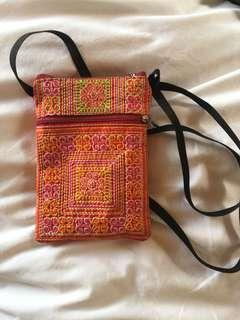 Bohemian cross body purse