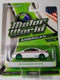 Greenlight America Edition GREEN MACHINE 2010Honda Civic Si