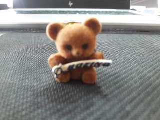 Boeing Teddy Bear Collar Pin