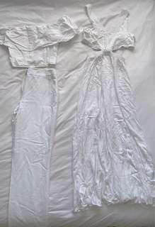 Glass ons dress and top & designer pants BUNDLE