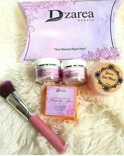 D'zarea skincare combo set with Gold Mask