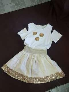 Blouse and Skirt (5-6y.o)