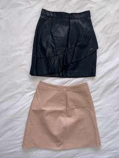 Zara skirt and sheike skirt BUNDLE!