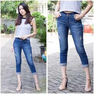 Jeans 7/9. Ukuran 27