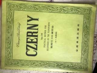 Czerny 琴譜