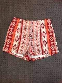 City Beach Knit Zip-up Shorts