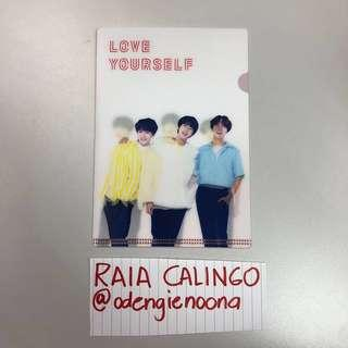 Official BTS Love Yourself Tour Lenticular L-holder