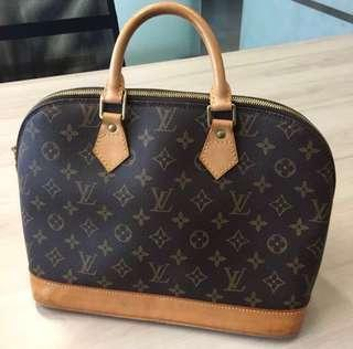 正貨 真品 Louis Vuitton LV Alma PM Monogram Handbag 手袋 手挽袋 手提袋 手提包 包包 #sellfaster