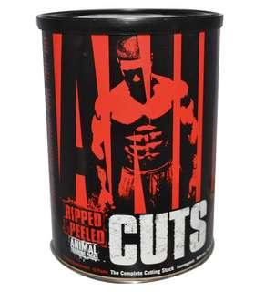 Universal Nutrition Animal Cuts - $25 Off RRP