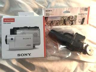 Sony Action Cam X3000 BUNDLE brand new in box!