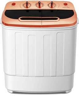 Portable Mini Compact Washer Machine and Spin Dryer