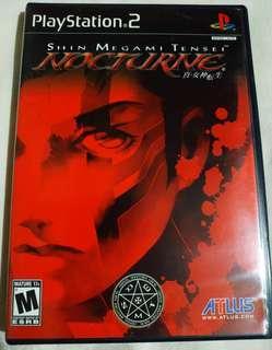 Shin Megami Tensei Nocturne Ps2 Game