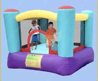 Soopa doopa mini castle jumping and blower