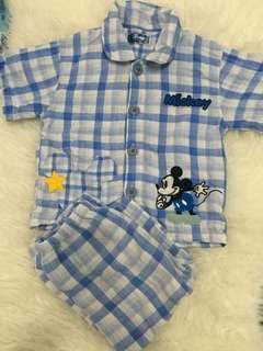 Mickey pajama set 2-3y