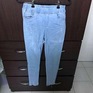 🚚 LOVFEE牛仔靴型褲