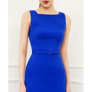 Doublewoot Dharlot Blue & Red Dress
