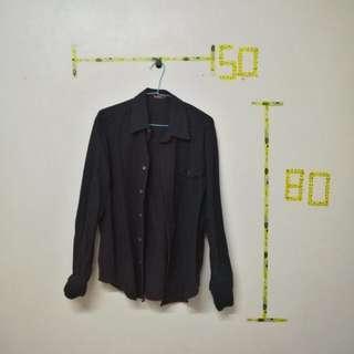 🚚 EDWIN 深藍襯衫