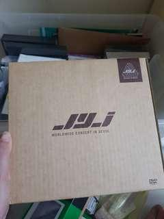 🚚 Brand new sealed in original package Limited Edition JYJ worldwide concert in Seoul dvd set (5DVDs and 6 Photobooks)