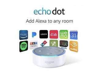 Amazon Echo Dot White brand new still in box