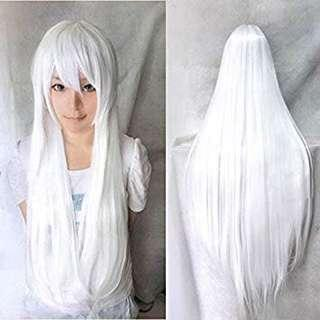 Long Snow White wig