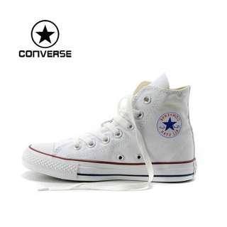 39b2b76ab58752 Converse Chuck Taylor All Star White High Cut