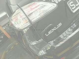 Lexus Wash Waxing