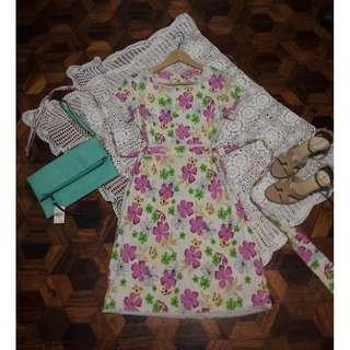B7s-D97: Floral Dress