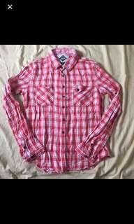 Jeep Red Checkered Shirt