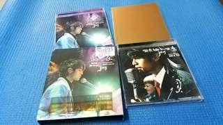 台灣版  周杰倫  無與倫比  演唱會 LIVE  CD2004 年IFPI 正版碟