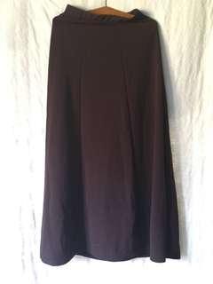 Preloved brown skirt