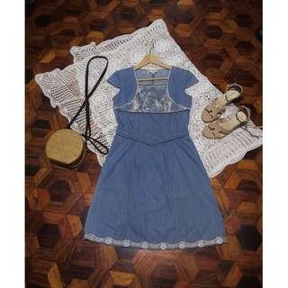 B7s-D95: Denim Dress