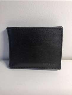 Matt & Nat Vegan Black Leather Wallet