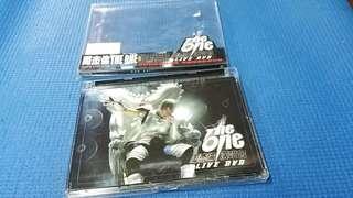 台灣版  周杰倫  The One 演唱會  CD2002 年IFPI 正版碟