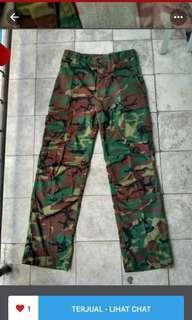 Celana bdu/cargo army