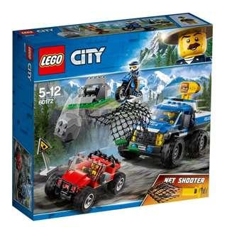 LEGO City Police Dirt Road Pursuit - 60172
