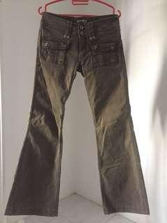Bootcut Khaki Pants